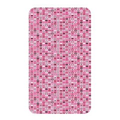 Abstract Pink Squares Memory Card Reader