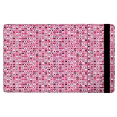 Abstract Pink Squares Apple iPad 2 Flip Case