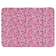 Abstract Pink Squares Samsung Galaxy Tab 7  P1000 Flip Case