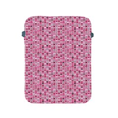 Abstract Pink Squares Apple Ipad 2/3/4 Protective Soft Cases