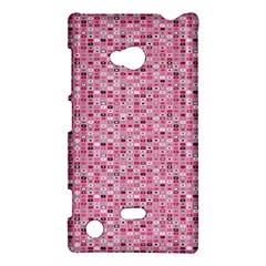 Abstract Pink Squares Nokia Lumia 720