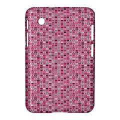 Abstract Pink Squares Samsung Galaxy Tab 2 (7 ) P3100 Hardshell Case