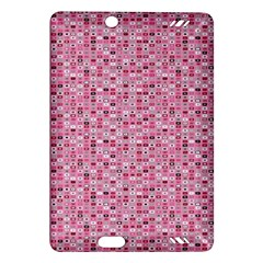 Abstract Pink Squares Amazon Kindle Fire HD (2013) Hardshell Case