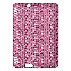 Abstract Pink Squares Kindle Fire Hdx Hardshell Case