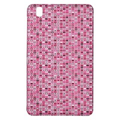 Abstract Pink Squares Samsung Galaxy Tab Pro 8 4 Hardshell Case