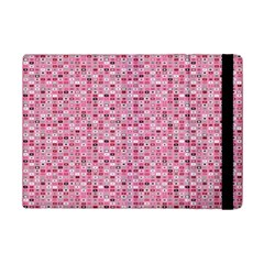 Abstract Pink Squares iPad Mini 2 Flip Cases