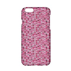 Abstract Pink Squares Apple Iphone 6/6s Hardshell Case
