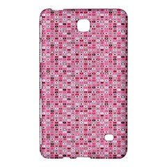 Abstract Pink Squares Samsung Galaxy Tab 4 (8 ) Hardshell Case