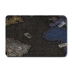 World Map Small Doormat