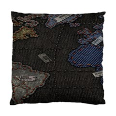 World Map Standard Cushion Case (One Side)