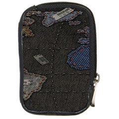 World Map Compact Camera Cases