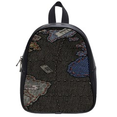 World Map School Bags (Small)