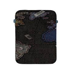 World Map Apple Ipad 2/3/4 Protective Soft Cases