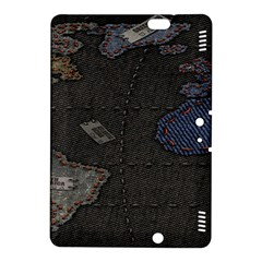 World Map Kindle Fire Hdx 8 9  Hardshell Case