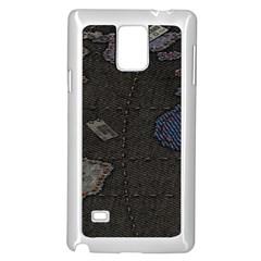 World Map Samsung Galaxy Note 4 Case (white)