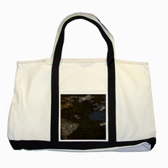 World Map Two Tone Tote Bag