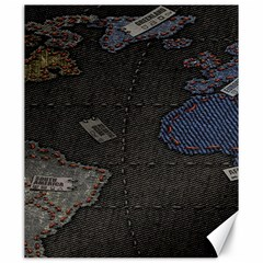 World Map Canvas 20  x 24