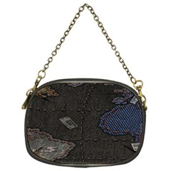 World Map Chain Purses (One Side)