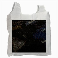 World Map Recycle Bag (Two Side)