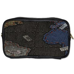 World Map Toiletries Bags 2 Side