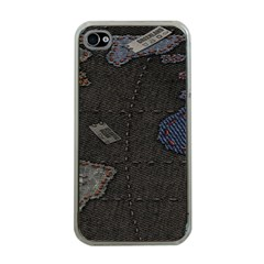 World Map Apple Iphone 4 Case (clear)