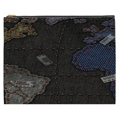 World Map Cosmetic Bag (xxxl)