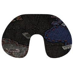 World Map Travel Neck Pillows