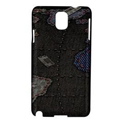 World Map Samsung Galaxy Note 3 N9005 Hardshell Case