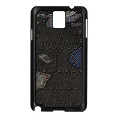 World Map Samsung Galaxy Note 3 N9005 Case (Black)