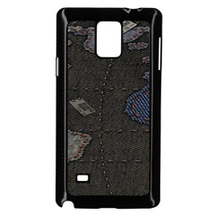 World Map Samsung Galaxy Note 4 Case (black)