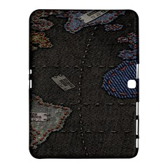 World Map Samsung Galaxy Tab 4 (10.1 ) Hardshell Case