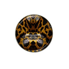 Textures Snake Skin Patterns Hat Clip Ball Marker (10 pack)