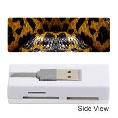 Textures Snake Skin Patterns Memory Card Reader (Stick)