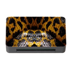Textures Snake Skin Patterns Memory Card Reader with CF