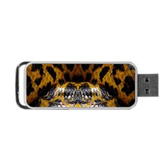 Textures Snake Skin Patterns Portable Usb Flash (one Side)