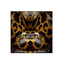 Textures Snake Skin Patterns Satin Bandana Scarf