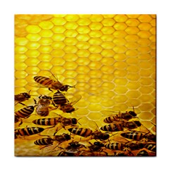 Sweden Honey Tile Coasters