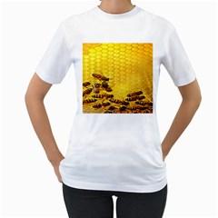 Sweden Honey Women s T Shirt (white) (two Sided)