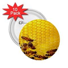 Sweden Honey 2 25  Buttons (10 Pack)