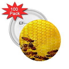 Sweden Honey 2.25  Buttons (100 pack)