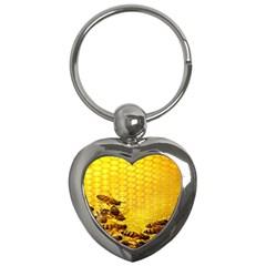 Sweden Honey Key Chains (Heart)