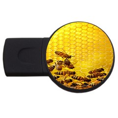 Sweden Honey Usb Flash Drive Round (4 Gb)
