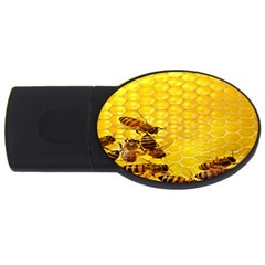 Sweden Honey Usb Flash Drive Oval (4 Gb)