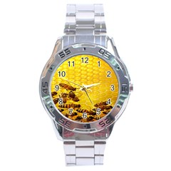 Sweden Honey Stainless Steel Analogue Watch
