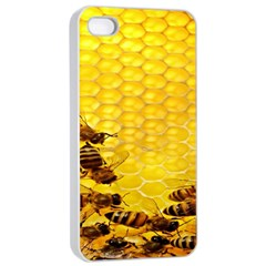 Sweden Honey Apple Iphone 4/4s Seamless Case (white)