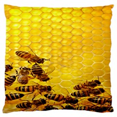 Sweden Honey Large Cushion Case (one Side)
