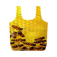 Sweden Honey Full Print Recycle Bags (m)