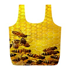 Sweden Honey Full Print Recycle Bags (l)