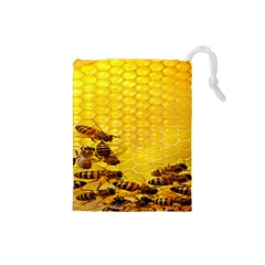 Sweden Honey Drawstring Pouches (small)