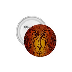 Lion Man Tribal 1.75  Buttons
